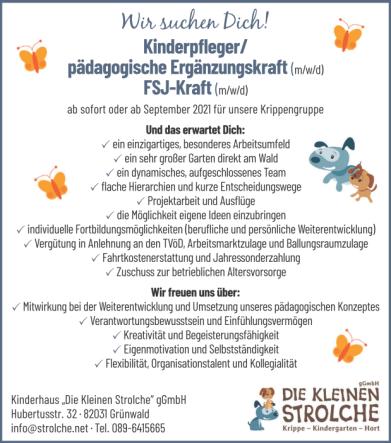 2021-04-15 Stellenanzeige_Die_kleinen_Strolche- PDF-XChange Viewer